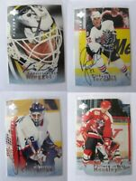 1995-96 BaP Signature Be a Player S76 Cheveldae Tim  autograph  jets