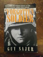 """""""The Forgotten Soldier"""": by Guy Sajer / PB / B&W PHOTOS / 2000"""