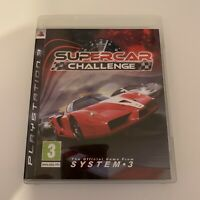 PS3 Game - Supercar Challenge - Tested - Full Working Condition
