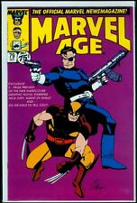 Marvel Comics MARVEL AGE #79 Shield Wolverine NM 9.4