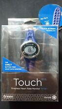 Oregon Scientific SE338/BXTDB Gaiam ECG Heartrate Monitor Touch Watch Navy Blue
