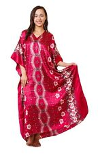 Up2date Fashion Caftan with Cherry Blossom Print, One Size, Style Caf-36C2