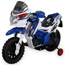 Kinder Elektromotorrad J518 (blau)