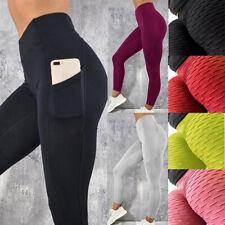 Anti-Cellulite Compression High Waist Yoga Fitness Legging Push Up Sports Pants