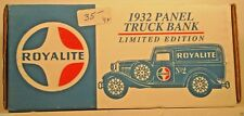 Royalite Ford 1932 Delivery Panel Truck 1:25 Scale Die Cast Ertl