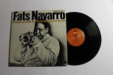 FATS NAVARRO With The Tadd Dameron Band LP Milstone Rec. M-47041 1977 GSP NM- 3E