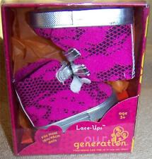 """Our Generation LACE-UPS Sneakers New Fits Most 18"""" Dolls"""