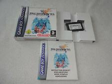 Final Fantasy Tactics Nintendo GBA Spiel komplett mit OVP und Anleitung