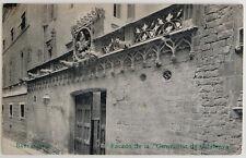 "Esperanto – ak 5-a UK barcelona 1909 – facado ""generalitat de Catalunya"" – gel."