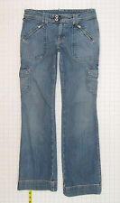 Ralph Lauren Polo Modern Bootcut Utility 6 Womens Blue Jeans Denim Pants C1106