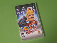 Buzz Master Quiz Sony PlayStation Portable PSP Game - SCEE *NEW & SEALED*