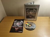 PLAYSTATION 2 - PS2 - MORTAL KOMBAT DEADLY ALLIANCE - COMPLETE WITH MANUAL