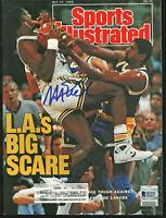 Lakers Magic Johnson Signed May 1988 Sports Illustrated Magazine BAS #MJ02994