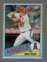 2020 Topps Chrome Mike Trout 1985 Retro #1 35th Anniversary Angels