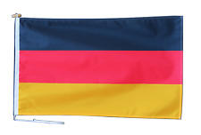 More details for germany federal flag with rope and toggle - various sizes