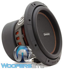 "MEMPHIS M610D4 10"" SUB 500W RMS 1000W MAX DUAL 4-OHM SUBWOOFER BASS SPEAKER NEW"