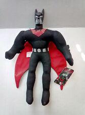 "NWT Batman Beyond 14"" Large Plush Toy Figure Play By Play Warner Bros 2001"