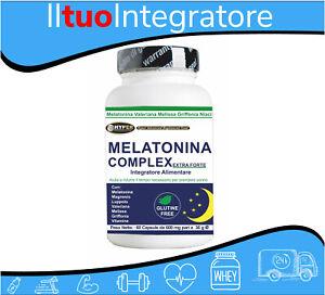 Melatonin Baldrian Griffonia Melissa Vitamine Schlaf Angst Stress A