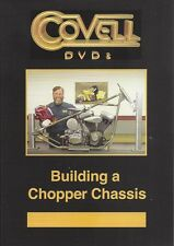 BUILDING A CHOPPER CHASSIS Covell Motorcycle Metalshaping Pullmax Metalwork