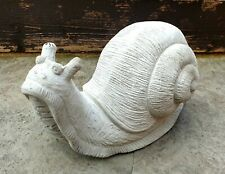 Snail garden sculpture. Cement casting stone ornaments