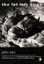 "7/8/93PGN29 THE FAT LADY SINGS : JOHN SON ALBUM ADVERT 7X5"""
