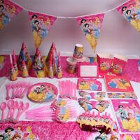 Princess Birthday Party Supplies Favor Theme Kids Tableware Decoration Napkins