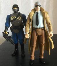 Lot of 2 Gotham City S.W.A.T. Commissioner Gordon Comic Book Infinite DC Batman
