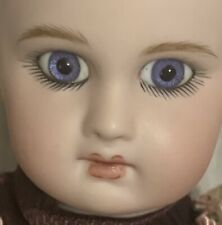 "Jumeau Depose Bebe French Antique Reproduction Artist ThuTam Porcelain 11"" Doll"