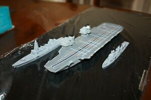 HMS Prince of Wales super carrier in 1250 scale.