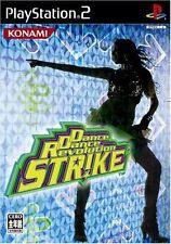 Used PS2 Dance Dance Revolution Strike KONAMI  SONY PLAYSTATION JAPAN IMPORT