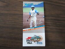 1994 Florida Marlins Stadium Giveway Pin Chuck Carr Art of Speed