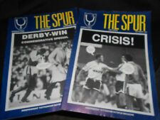 2 X La Espuela-Tottenham Hotspur Revistas-octubre noviembre, número de 1989 & 8 & 9
