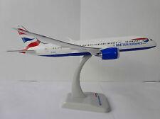 British Vías respiratorias Boeing 787-8 Dreamliner 1/200 Hogan 0670 Limox