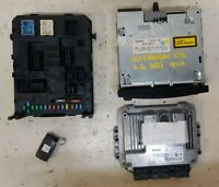 2004 - 2011 CITROEN C4 1.6 HDi 90 BOSCH ECU, BSi & TRANSPONDER KIT 0 281 011 863