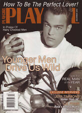 PLAYGIRL December 2003 JEFF TIMMONS 98 Degrees LIZ PHAIR Hairy TERRELL FRANKLIN