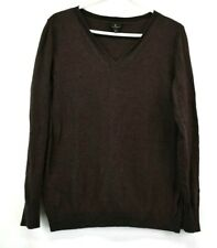 Worthington Womens XL Top Long Sleeve V-Neck Thermal Sweater Shirt Casual Wear