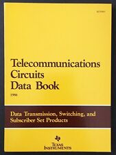 Texas Instruments Telecommunications Circuits Data Book 1986