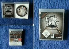 Guitar Hero Metallica PS3 RARO!