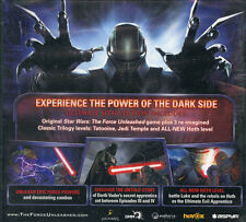 Star Wars Force Unleashed Ultimate Sith EDN Intel Mac Os 10.5.8 + Nuevo Y Sellado