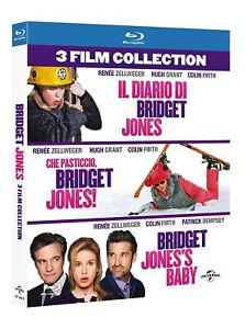 BRIDGET JONES COLLECTION (3 film in BLU-RAY) COF. UNICO, ITA.