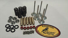 Rhino Grizzly 660 Kibblewhite Springs Stainless Valves Guides Head Rebuild Kit