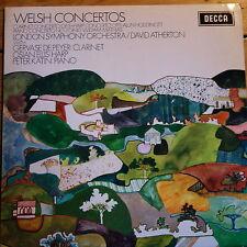 SXL 6513 Three Welsh Concertos / De Peyer / Ellis / Katin / Atherton / LSO