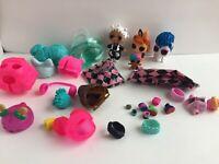 L.O.L. Surprise Mixed Lot Dolls Pets Lil Sis Wigs Hair Goals Clothes
