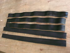 Rubber strip with beaded edge 50mm wide 4mm thick 42mm between beads raised 2mm