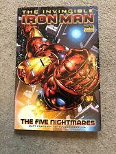 Invincible Iron Man Vol.1: The Five Nightmares by Marvel Comics (Hardback, 2008)