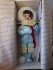 "Hamilton Collectible Doll ""Winter Angel"" by Donald Zolan"