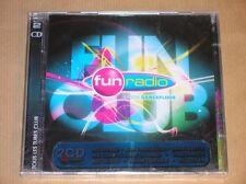 2 CD / FUN RADIO 2008 / FUN CLUB - LE SON DANCE FLOOR / NEUF SOUS CELLO
