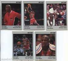 Michael Jordan Star Company Co CAREER HIGHLIGHTS ~ PROMO Set of 5 cards