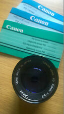 Canon FD 100mm Lens F2,8 (35mm) with Case & Canon Skylight Filter