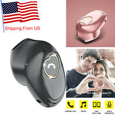 In Ear Bluetooth Headset Wireless Earbud with Mic for iPhone Nokia Xiaomi Redmi